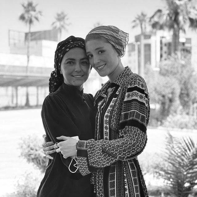 فرشته حسینی و هدی زین العابدین