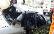 فاجعه انفجار گاز پیکنیکی درون خودرو