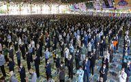فیلم نخستین نماز جمعه تهران پس از ۲۰ ماه وقفه