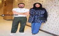 نوید محمدزاده و پریناز ایزدیار در اکران مردمی «سرخپوست»/عکس