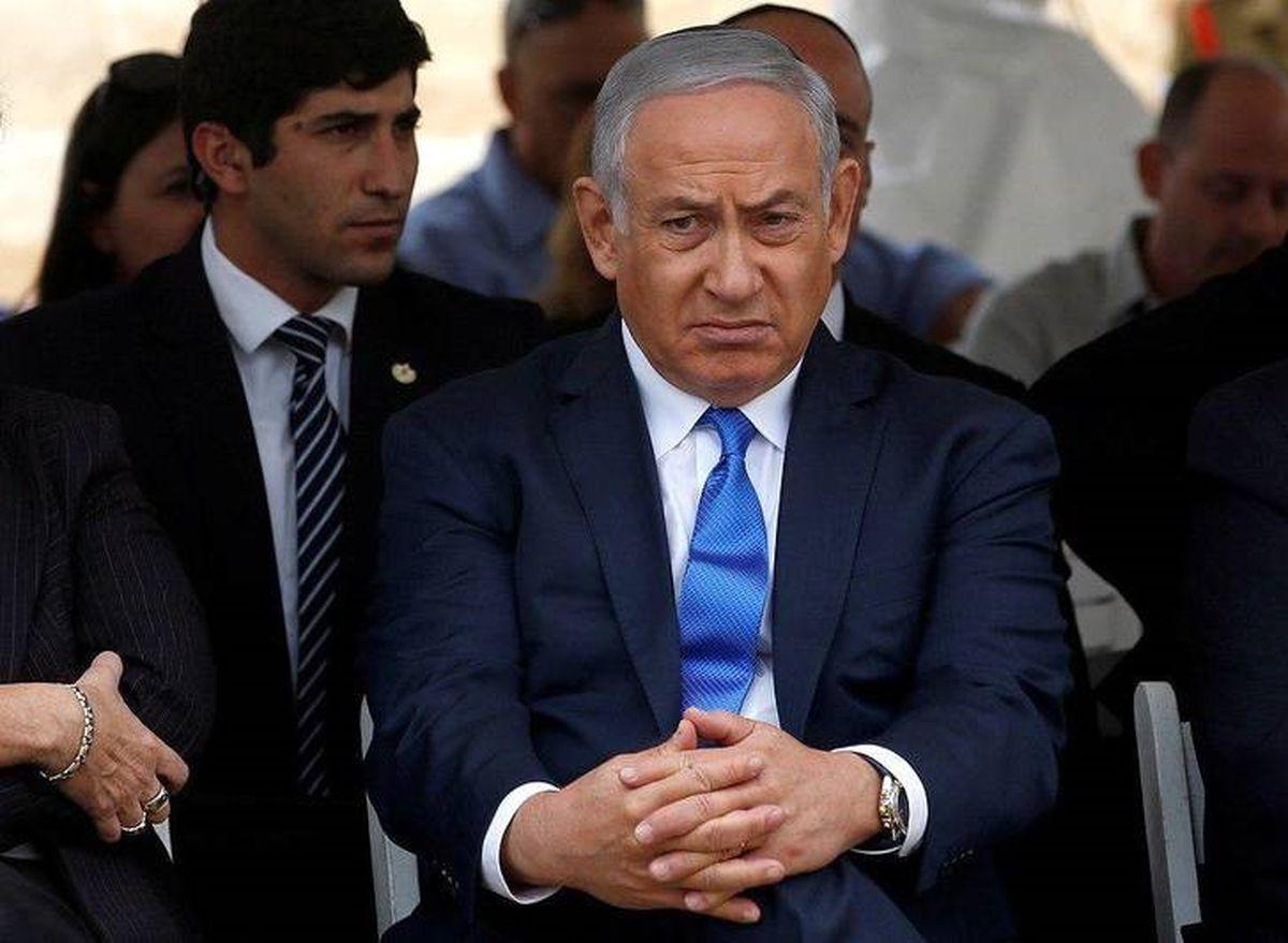 اولین تصاویر از نتانیاهو بعد از موشک باران مقاومت / تصاویر