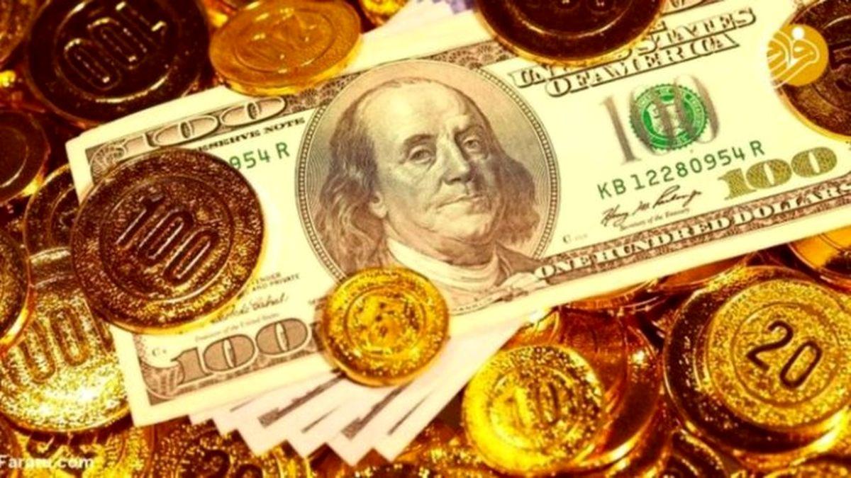 آخرین قیمت سکه، قیمت طلا و قیمت دلار در بازار امروز 8 بهمن +جدول
