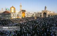 حال و هوای این روزها مشهد در شب تولد امام رضا(ع)/تصاویر