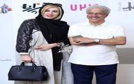 تصویری از عليرضا خمسه و همسرش جوانش
