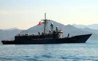 برخورد دو کشتی جنگی ترکیهای و یونانی در دریای اژه