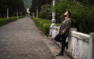 پوزیشن جذاب بابک جهانبخش + عکس