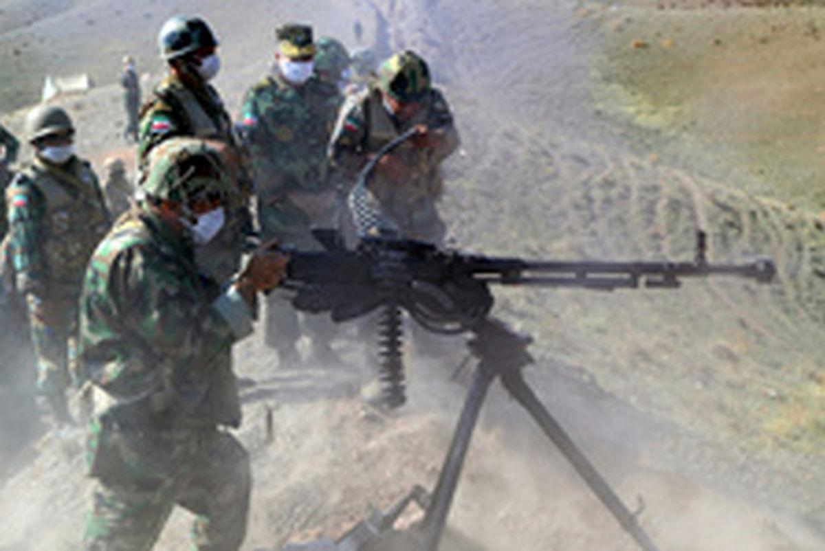 رزمایش ارتش در مناطق مرزی شمال غرب