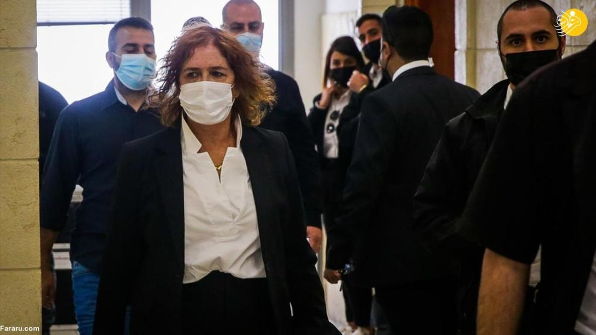تصاویری دیده نشده از محاکمه نخست وزیر رژیم صهیونیست در دادگاه