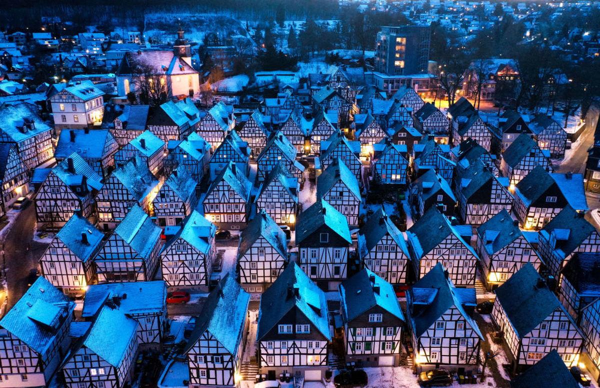 یادبود زیبای معماری در آلمان+عکس