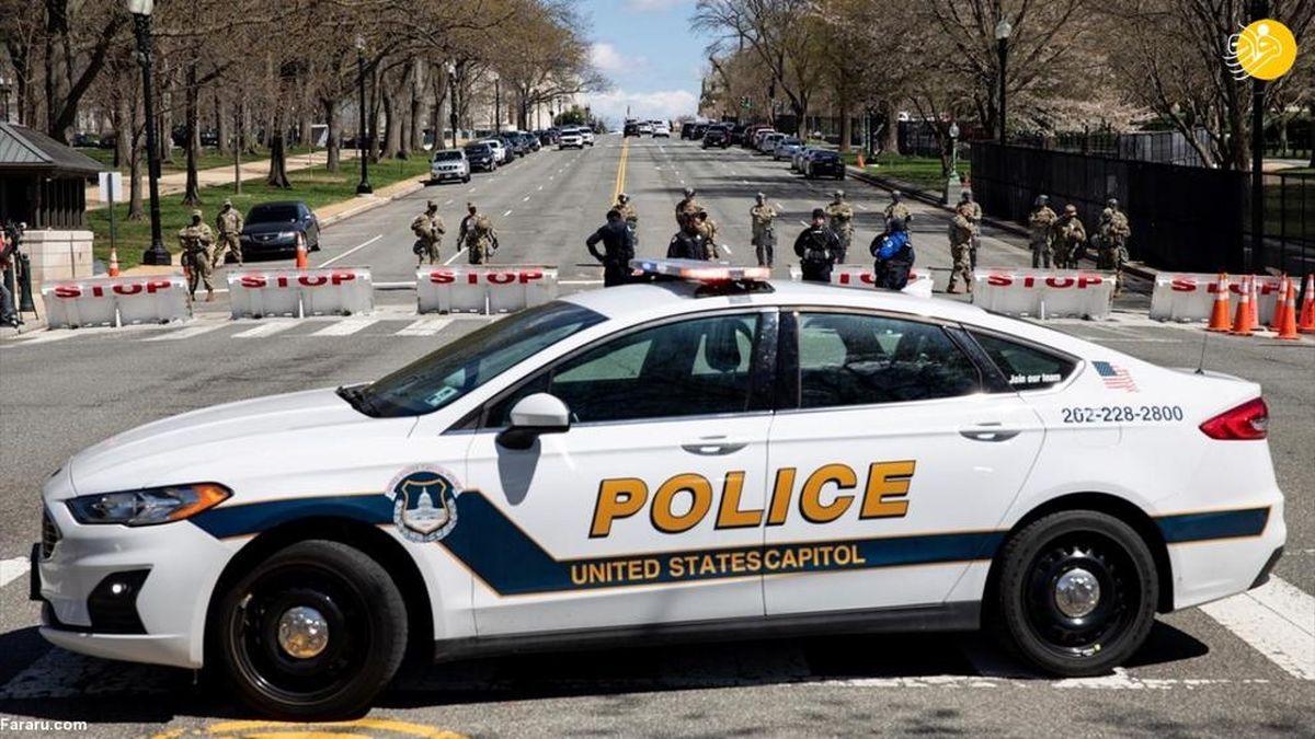 تصاویر دیده نشده از حمله و تیراندازی با خودرو به کنگره آمریکا