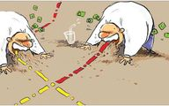بخور بخور!/کاریکاتور