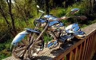 موتورسیکلت قاشقی! + تصاویر