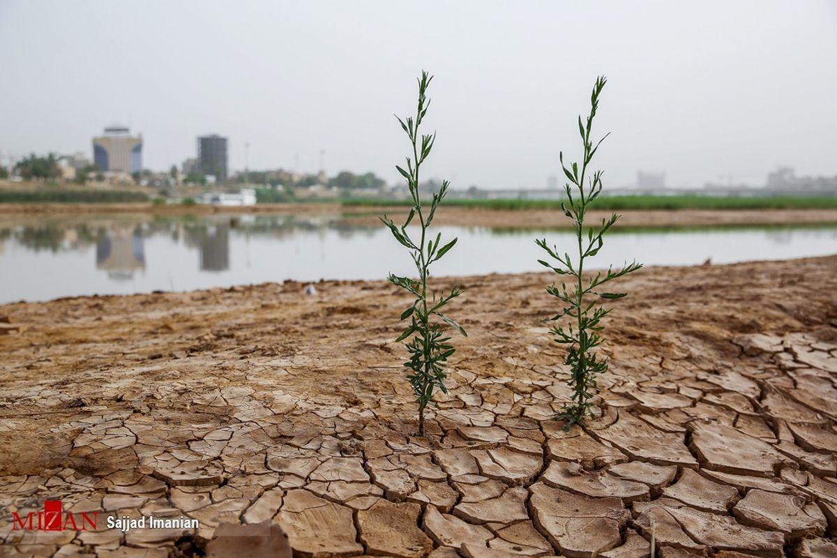 حال و روز وخیم بزرگترین رودخانه ایران/تصاویر