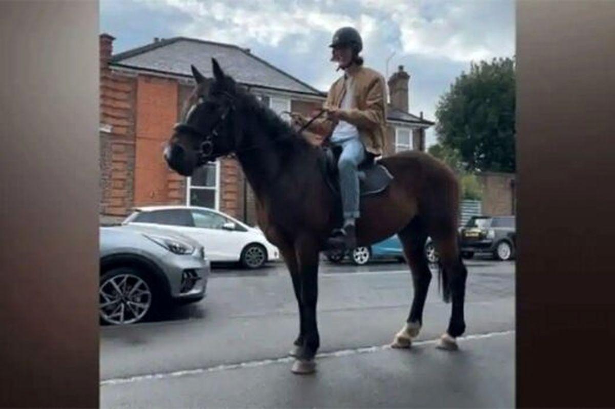 اسب سوار شدن انگلیسی ها به دلیل بحران سوخت
