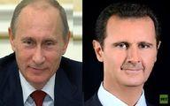 گفتوگوی تلفنی پوتین و بشار اسد