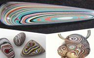 تصاویر عقیق دیترویت رنگارنگترین سنگ جهان!