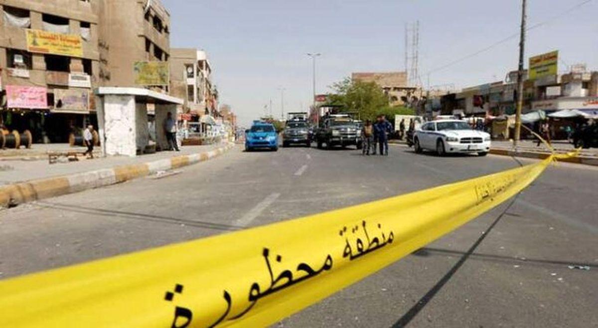 انفجار بمب در مسیر کاروان آمریکایی در شمال بغداد