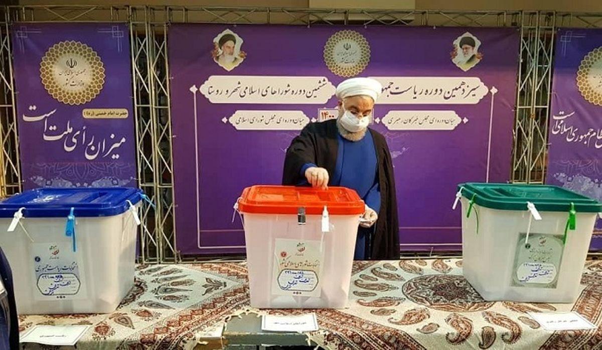 روحانی: انتخابات برای کشور سرمایه بزرگی است
