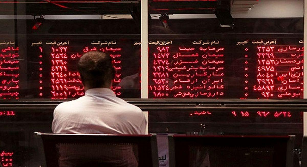 ریزش بورس ادامه دارد + نقشه بازار