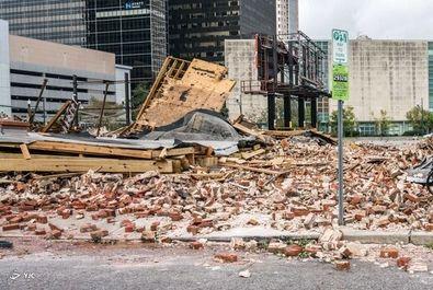 ویرانیهای طوفان آیدا