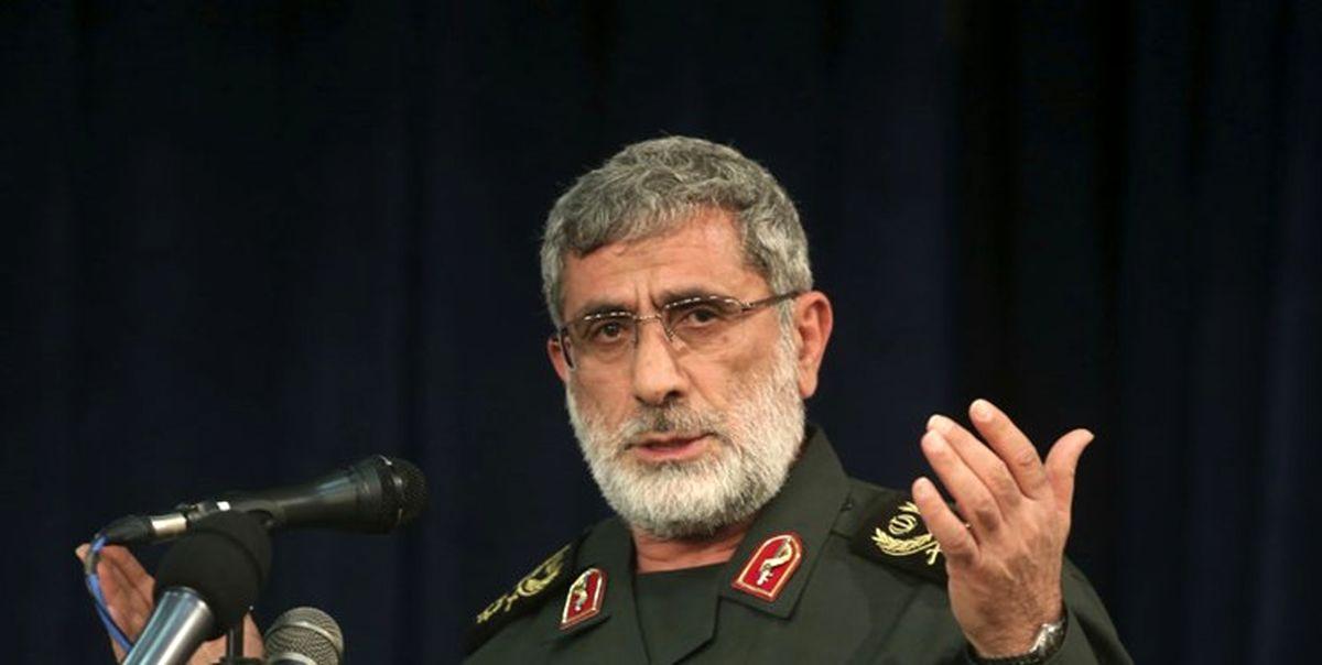 پشت پرده خبر سفر سردار قاآنی به عراق   جزئیات