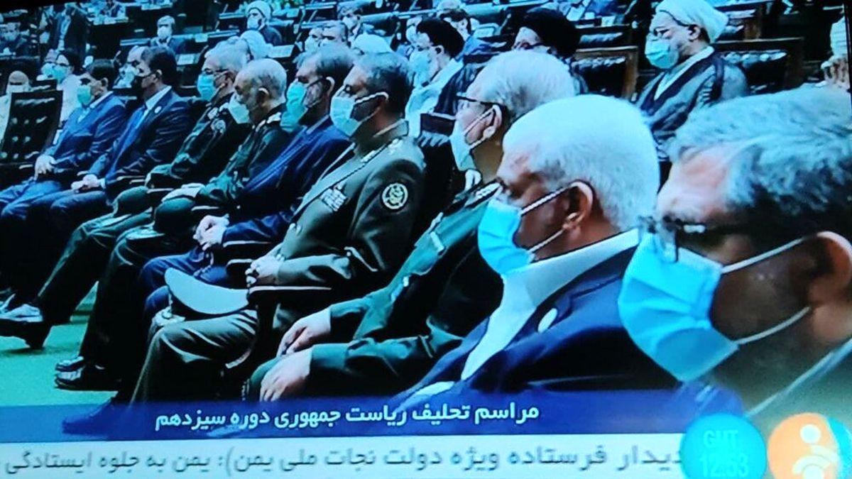مقام های نظامی که در مراسم تحلیف رئیسی حضور دارند + عکس