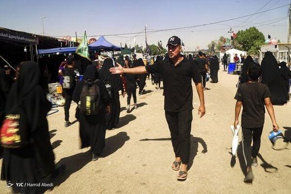 تصاویر  پیاده روی اربعین حسینی در عراق