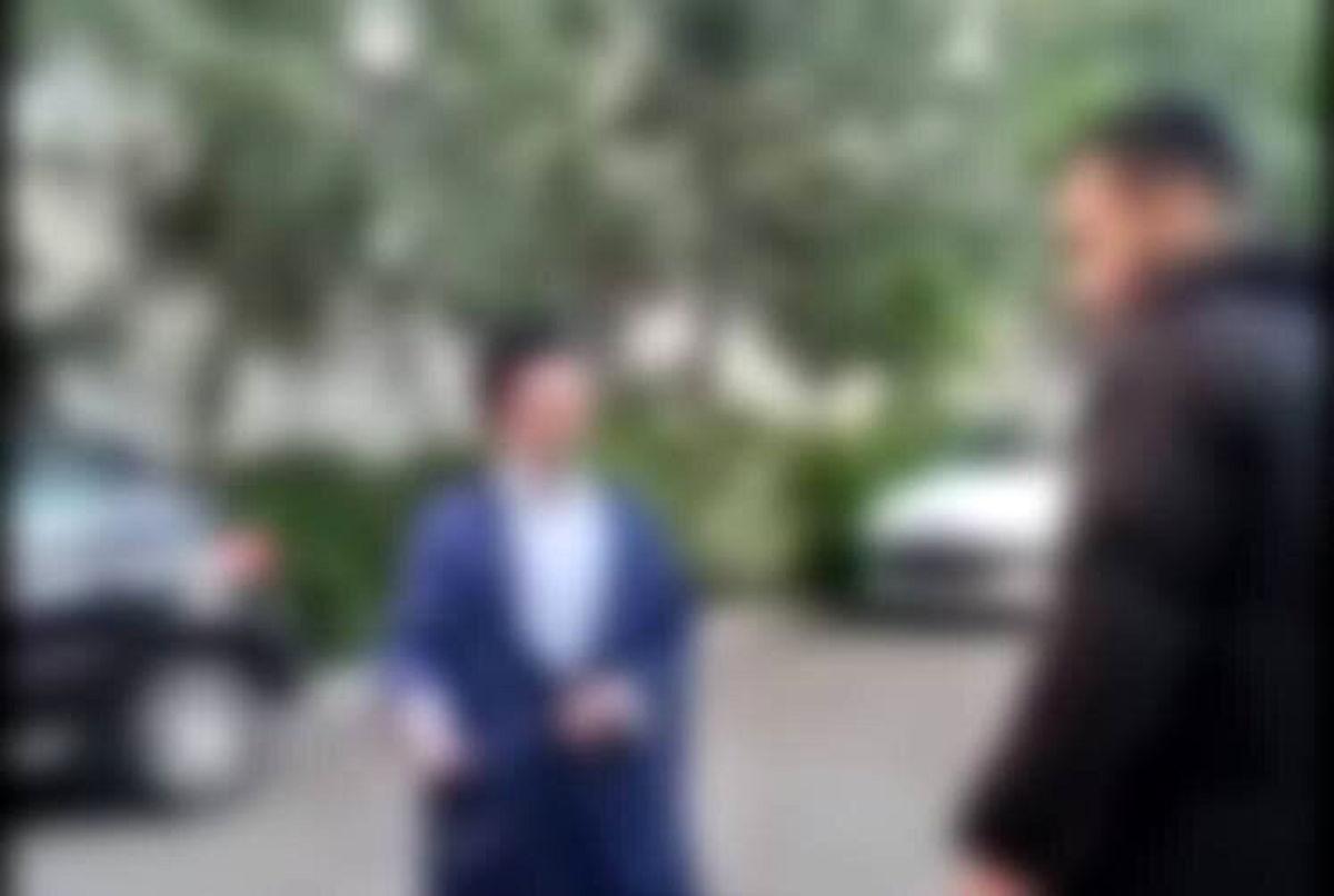 پشت پرده فیلم ساختگی سیلی خوردن یک روحانی وسط خیابان
