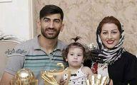 تیپ خارج از عرف همسر علیرضا بیرانوند در بلژیک | ساحل گردی علیرضا بیرو و همسرش با استایل جدید