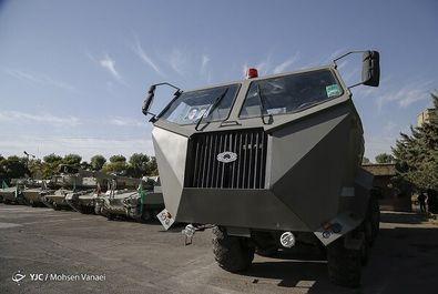 خودروهای قدرتمند و تاکتیکی ارتش