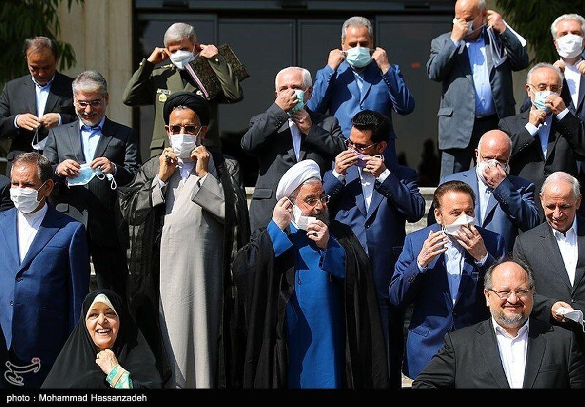 تقدیر اعضای هیأت دولت از حسن روحانی