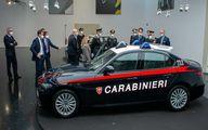 تصاویر جدیدترین آلفارومئوی ضدگلوله برای پلیس ایتالیا