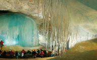 بزرگترین غار یخی جهان به طول 42 کیلومتر عکس