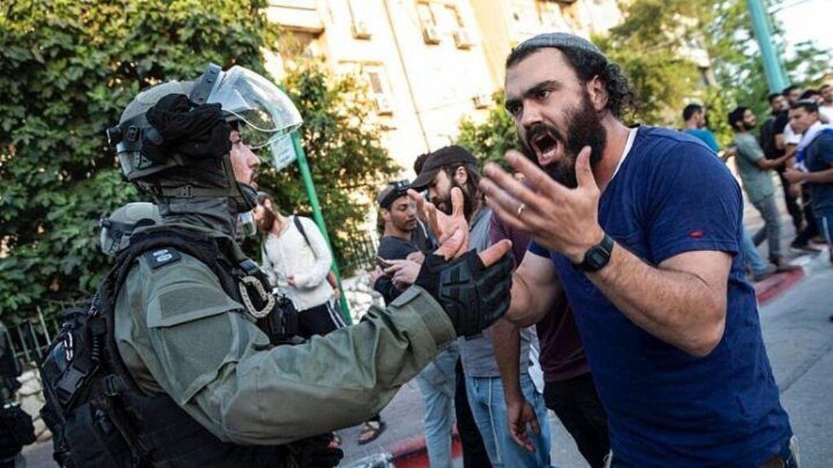سایه جنگ داخلی بر سر اسرائیل