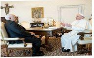 تصاویر دیدار ظریف با پاپ فرانسیس در واتیکان
