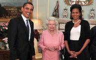 اعترافات خندهدار میشل اوباما در باره دیدار با ملکه بریتانیا + عکس
