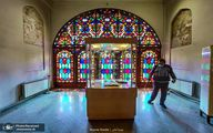 ضدعفونی موزه ها در قزوین + عکس