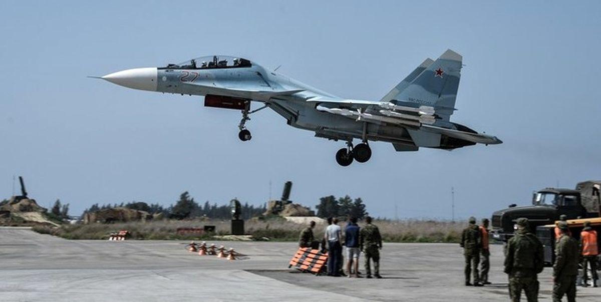 یورش جنگندههای روسی به مواضع داعش در سوریه