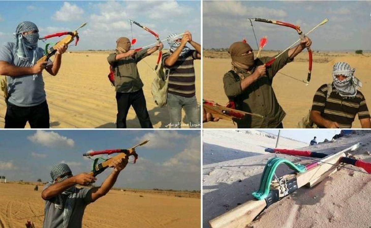 جدیدترین شیوه مبارزاتی جوانان فلسطینی / عکس