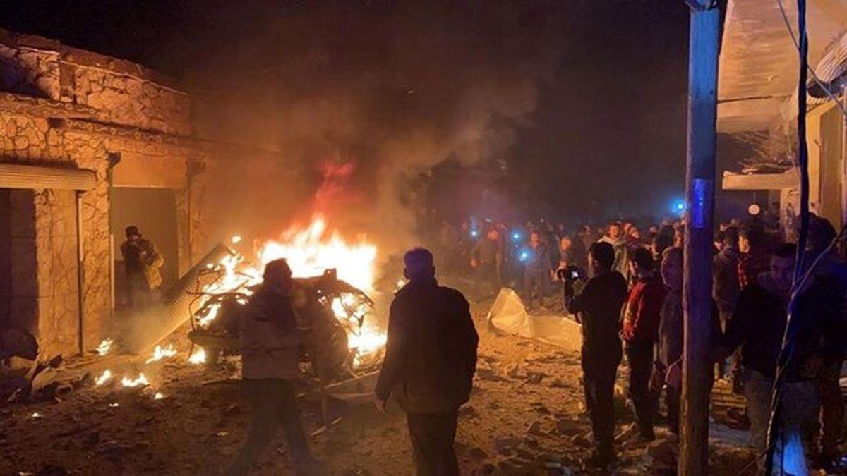 انفجار در سوریه + عکس و جزئیات