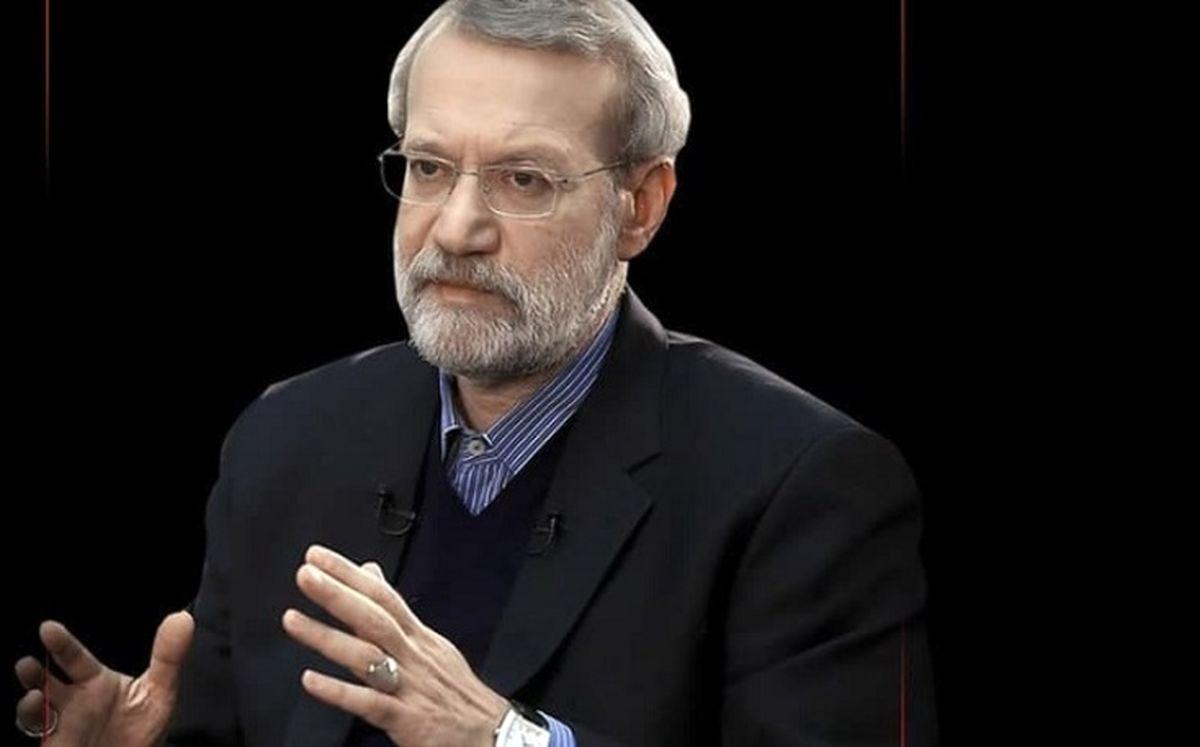 لاریجانی: آمریکا نمیتواند با شکلات ایران را فریب دهد/ رهبر انقلاب همیشه تأکید میکردند که عَلَم مذاکره باید در دستتان باشد