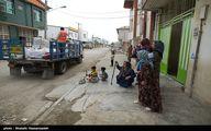 عکس/ اهدای کمک به مردم سیل زده شهرستان آق قلا