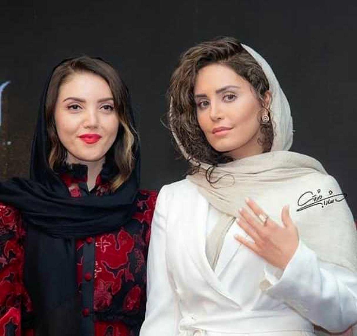 آرایش غلیظ و نامتعارف الناز شاکردوست در کنار یک خواننده ترکیهای + عکس