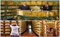 پنیر به جای سند ضمانت وام بانکی / عکس
