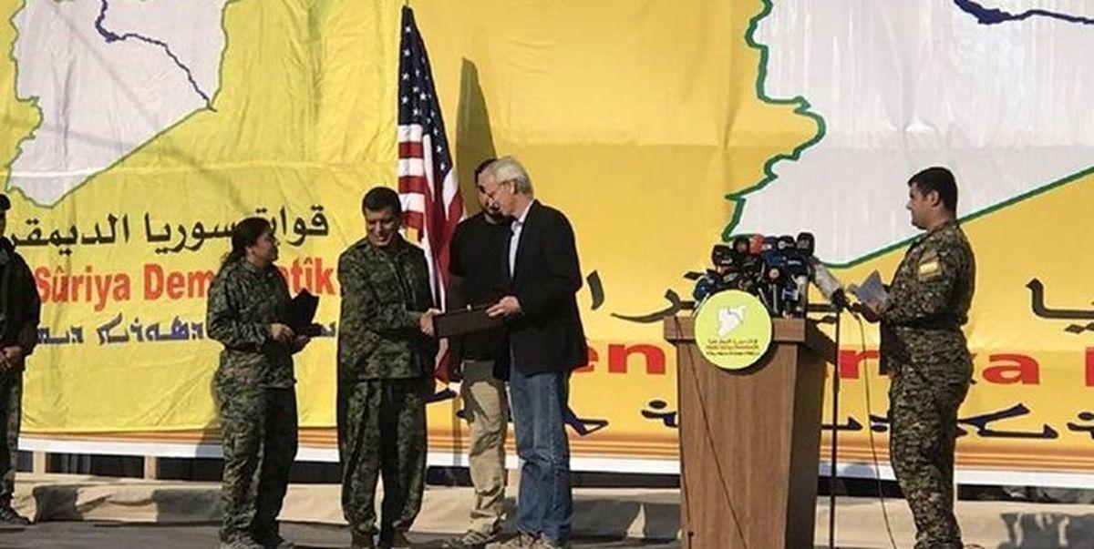 موضع جدید آمریکا در قبال تشکیل کشور کردستان سوریه