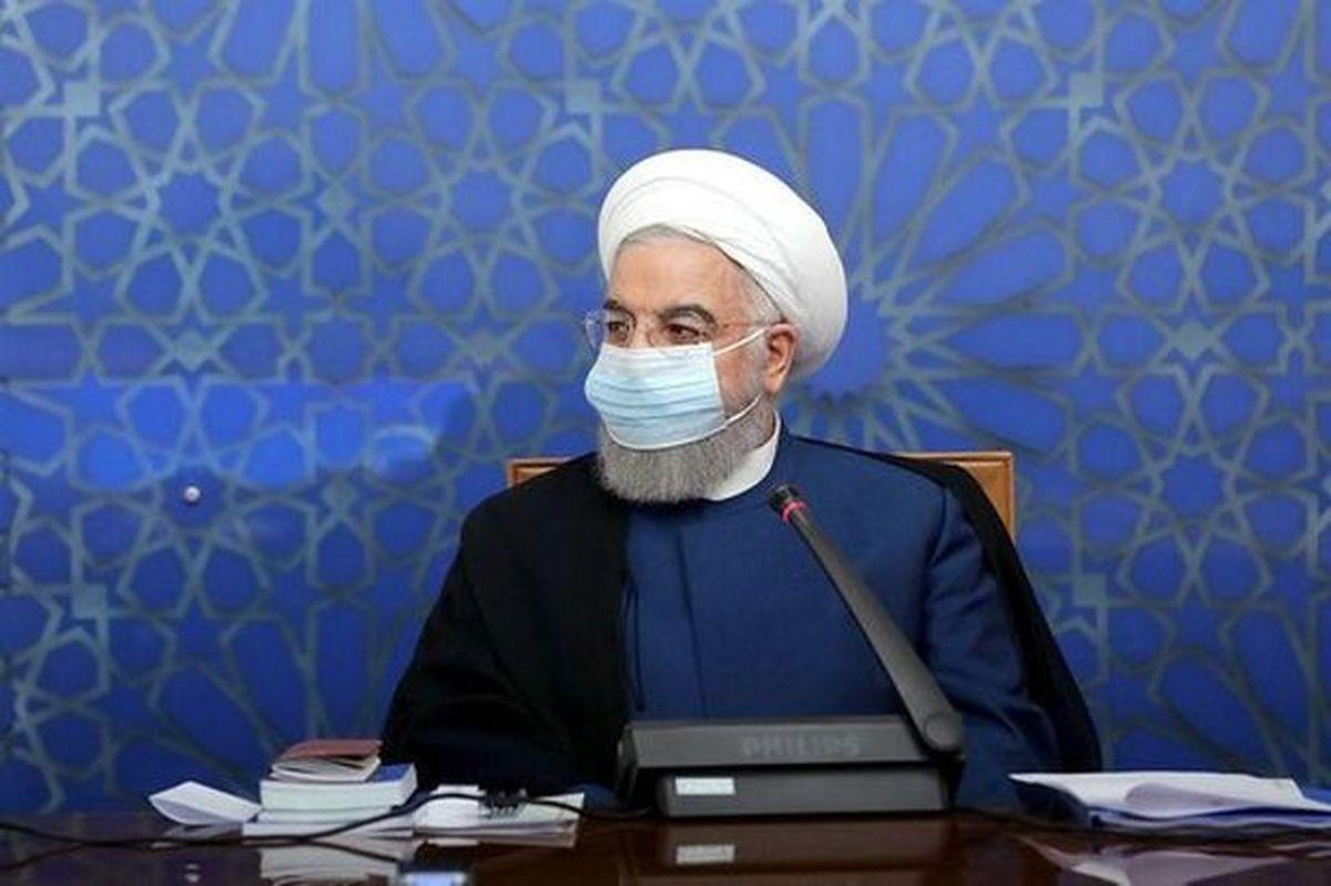 روحانی: کرونای انگلیسی از عراق وارد کشور شد