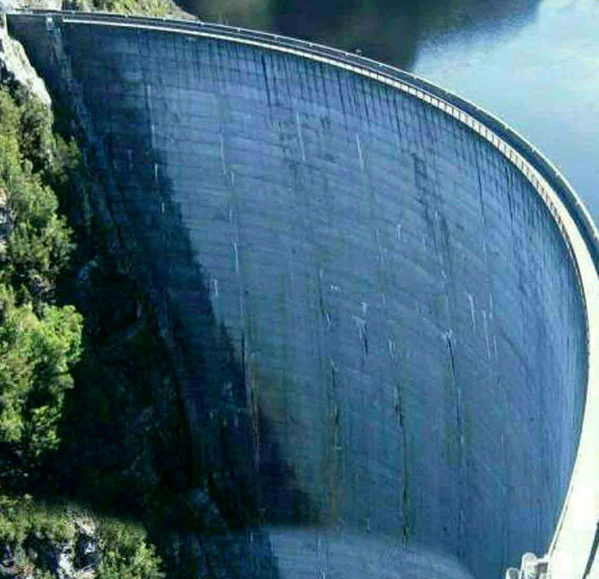 تصویر بزرگترین سد دنیا با 325 متر ارتفاع در کشور همسایه
