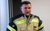 علی دایی آتشنشان شد