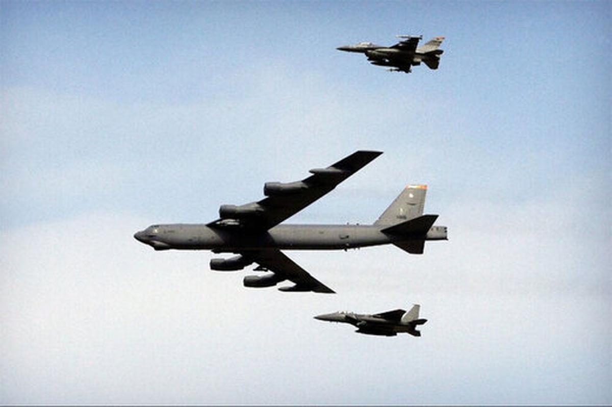 رهگیری بمبافکنهای B52 آمریکا در پدافند هوایی ایران
