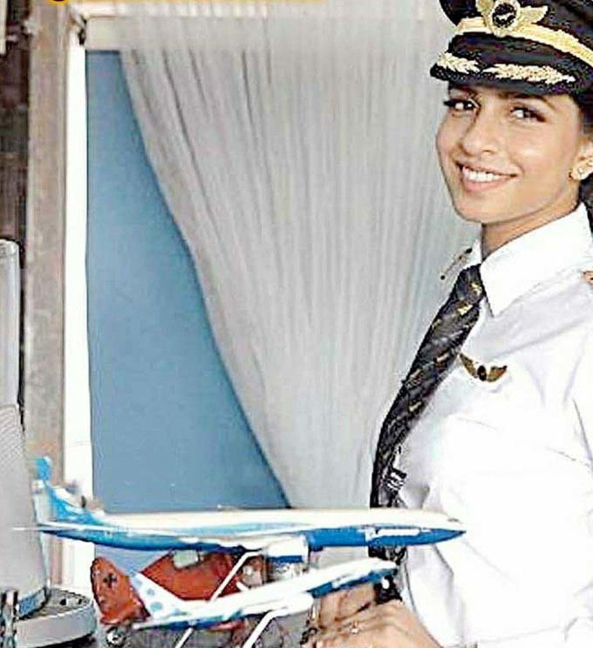 تصویر جوانترین فرمانده زن شرکت بویینگ